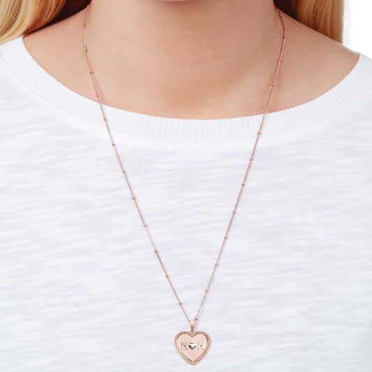 Mum Heart Necklace (OBJLHN12)