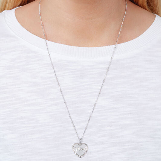 Mum Heart Necklace (OBJLHN13)