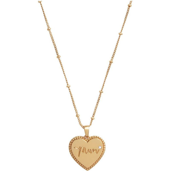 Mom Necklace Gold (OBJLHN15)