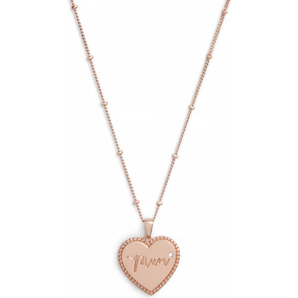 Mom Necklace Rose Gold (OBJLHN15)