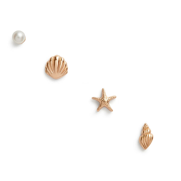 Assorted Rose Gold Studs (OBJSCE23)
