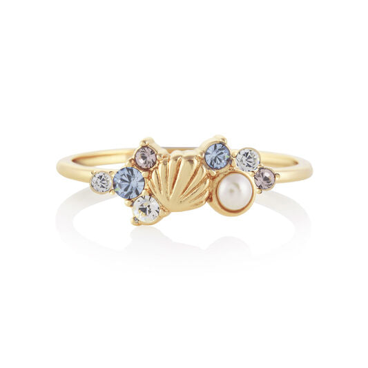 Under the Sea Gold Ring - LARGE (OBJSCR12C)