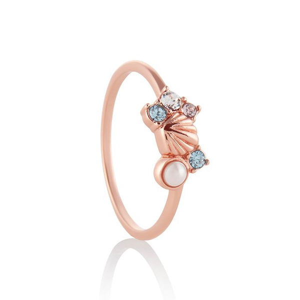 Under the Sea Rose Gold Ring - Medium (OBJSCR13B)
