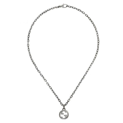 Gucci Interlocking GG Pendant in silver (YBB45530700100U)