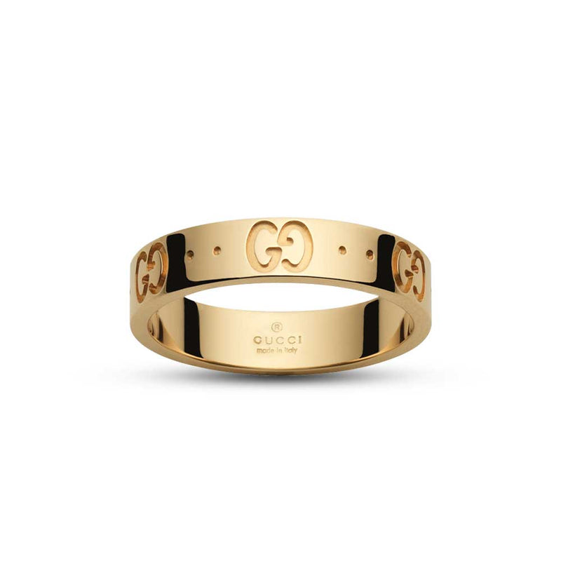 Gucci Icon Yellow Gold Ring (YBC073230001013)