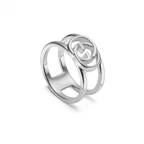 Interlocking G Sterling Silver (YBC298036001019)