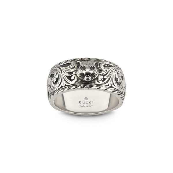 GUCCI - SILVER UOMO Men's Ring (YBC433571001023)