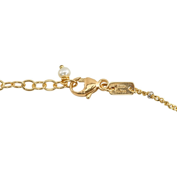 GUCCI Le Marche des Merveilles 18K Yellow Gold And Diamond Bracelet