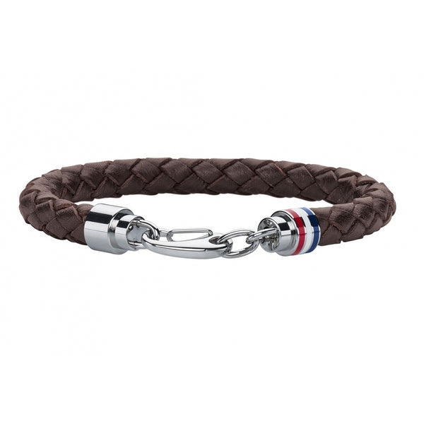 Men's Braided Leather Bracelet (2700530)