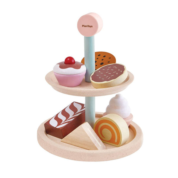 Plan Toys- Bakery Stand Set