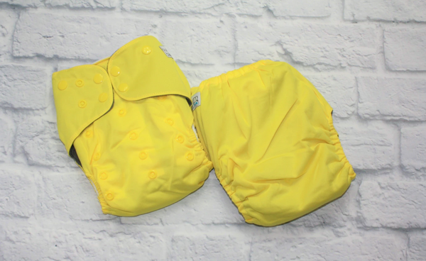 BumBum Babies - Yellow Pocket Diaper