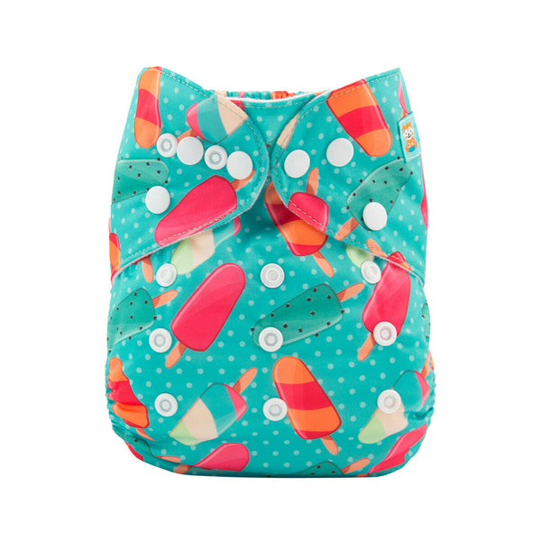 Alva Pocket Diaper- Popsicles