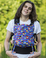 Butterfly Baby- Soft Structured Carrier- Little Heros
