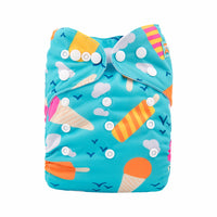 Alva Pocket Diaper- Ice Cream