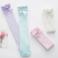 Pastel Knee High Infant Socks