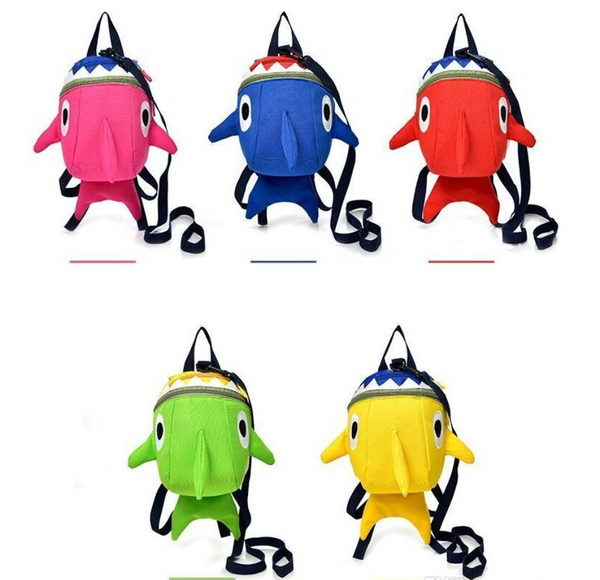 Shark Harness Backpack for Toddlers