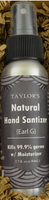 TAYLOR'S- Sanitize Those Hands! Spray Hand Sanitizer