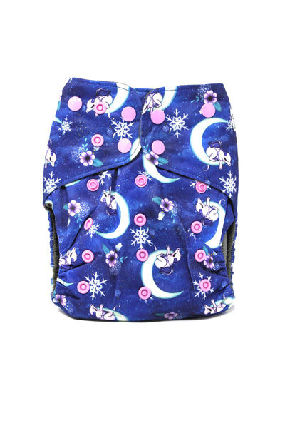 BumBum Babies- Moon Dragons Pocket Diaper