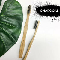 THE FUTURE IS BAMBOO- Adult Soft Charcoal & Bamboo Toothbrush