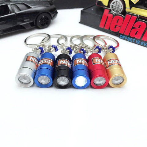NOS LED Keychain