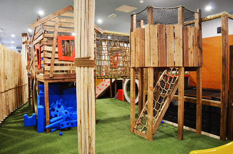 Treehouse play area