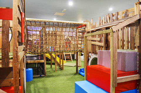 Treehouse over 4 play area