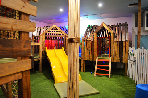 Treehouse adventure playground