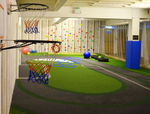 Treehouse sports area zone