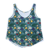 Blue Spring Women's Summer Tank