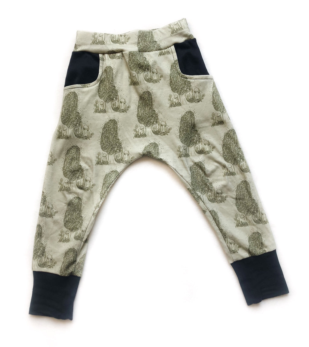 Mighty Morels Organic Cotton Pocket Leggings - Toddler - Preorders Open