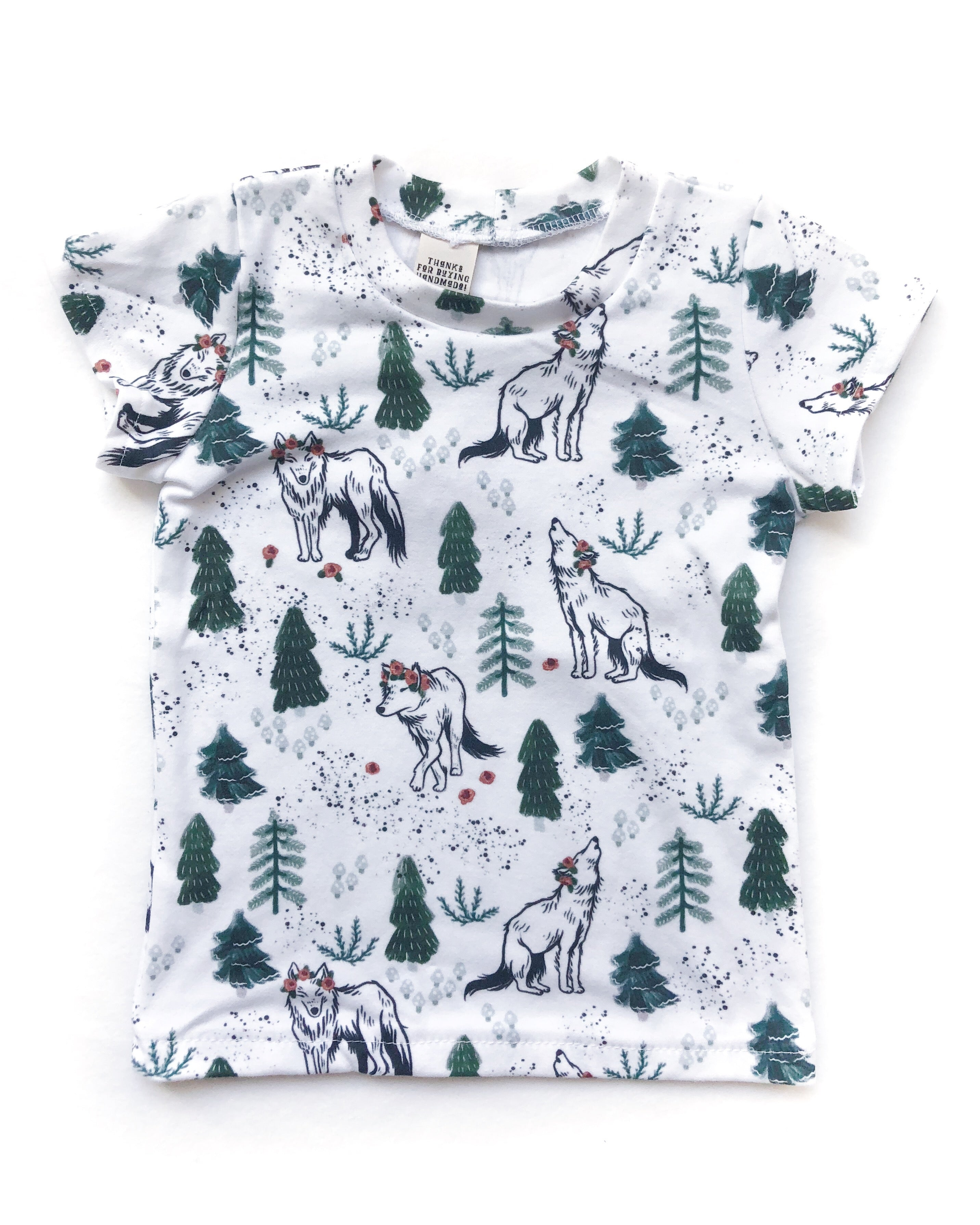 Wolves in the Woods Organic Cotton Tee