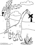 Z9 Dino Coloring Page