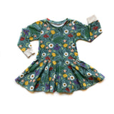 Blue Spring Dress - Kid