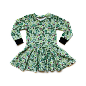 Baby Festive Floral Twirl Dress