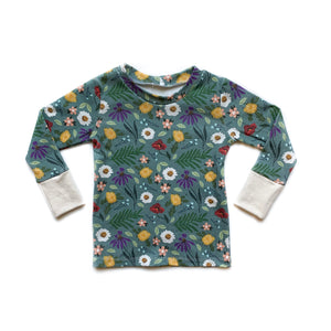 Kids Blue Spring Long Sleeve Shirt