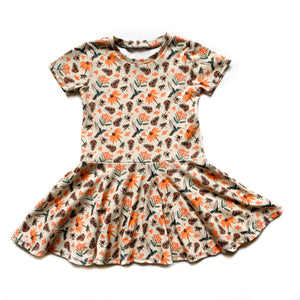 Baby PNW Pollinator Twirl Dress
