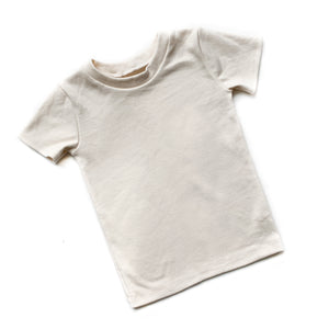 Toddler Basic Cream Shirt