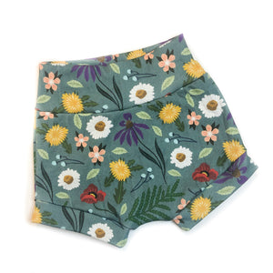 Blue Spring Organic Cotton Shorties