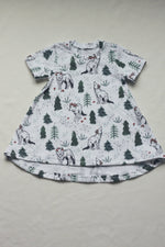 Wolves in the Woods Organic Cotton Dress