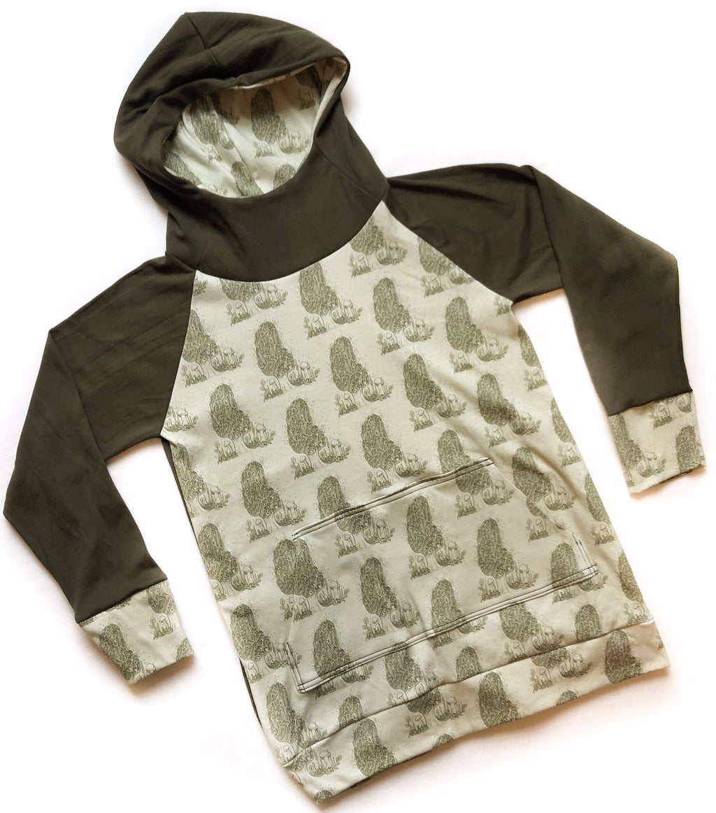 Adult Men's Morel Organic Cotton Hoodie