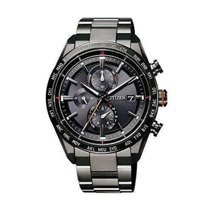 CITIZEN ATTESA ECO-DRIVE GPS RADIO WAVE DIRECT FLIGHT BLACK MEN WATCH AT8185-62E