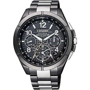 CITIZEN ATTESA ECO-DRIVE GPS RADIO WAVE DIRECT FLIGHT MEN WATCH CC9075-52E
