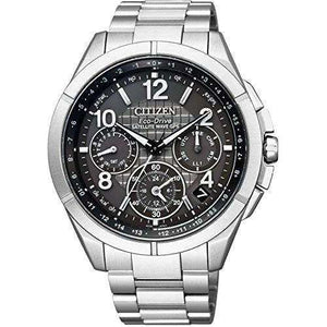 CITIZEN ATTESA ECO-DRIVE GPS RADIO WAVE FROZEN GREY MODEL MEN WATCH (900 Limited) CC9070-56H
