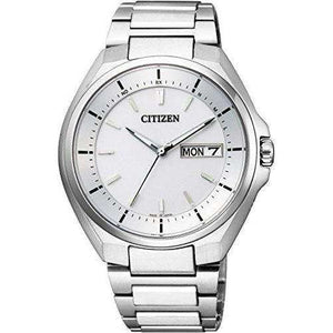 CITIZEN ATTESA ECO-DRIVE RADIO WAVE DAY DATE MEN WATCH AT6050-54A