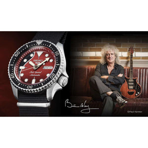 Seiko 5 Sports Brian May Men Watch (9,000 Limited) SRPE83K1