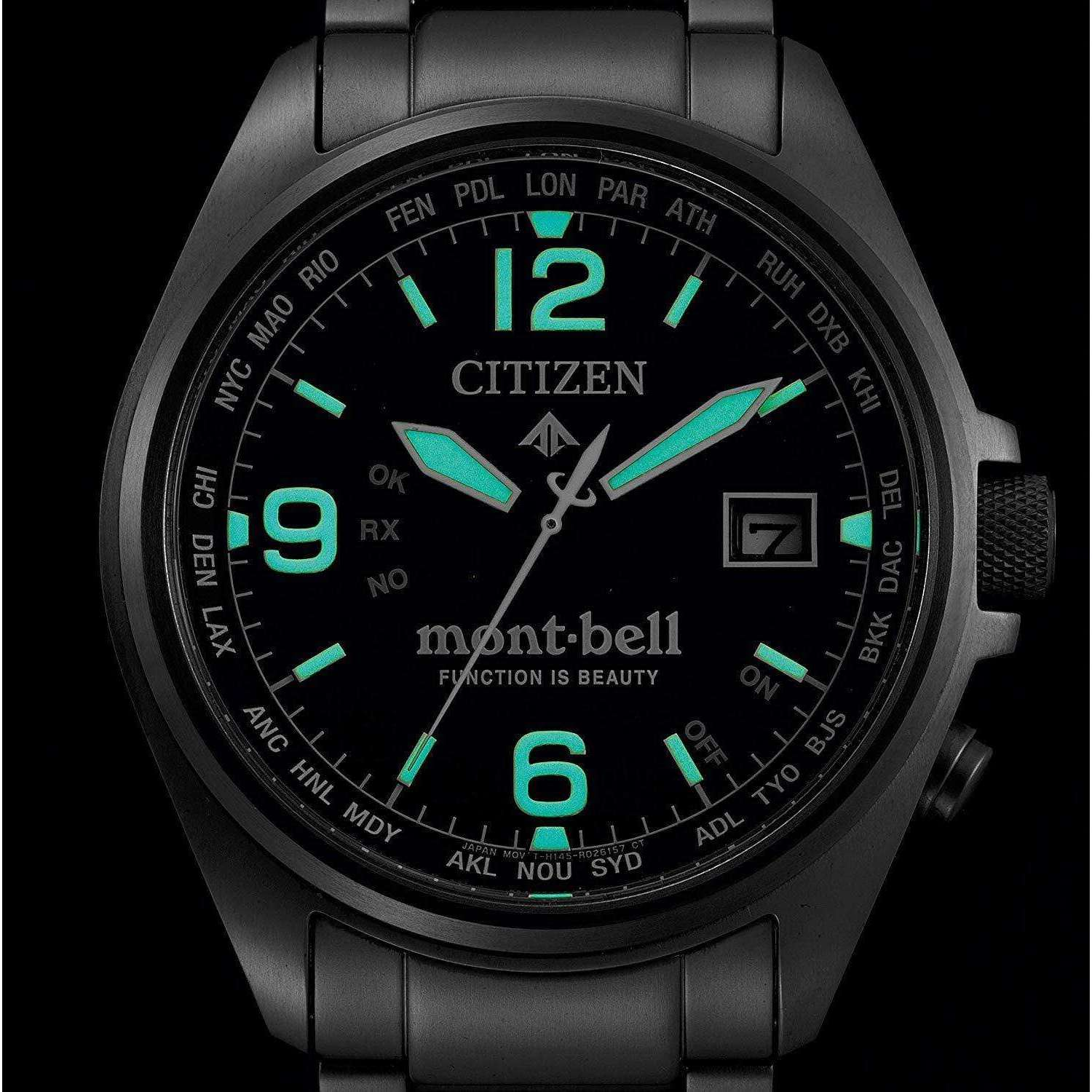 CITIZEN PROMASTER x MONT-BELL COLLABORATION MODEL ECO-DRIVE MEN WATCH (500Limited) CB0171-11L - ROOK JAPAN