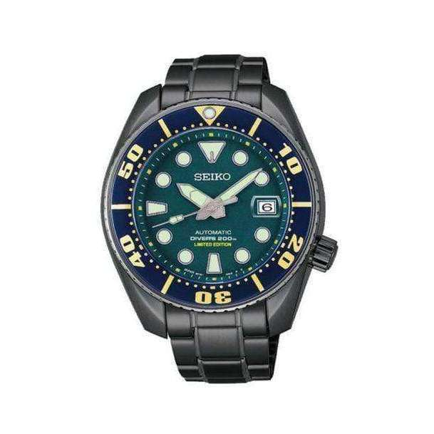 SEIKO PROSPEX SUMO GREEN DIVER SCUBA AUTOMATIC MEN WATCH (500 Limited) SBDC019