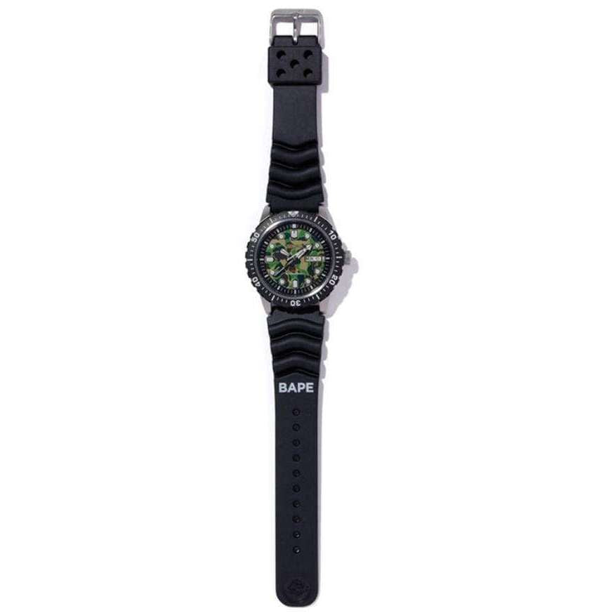 SEIKO x BAPE MECHANICAL DIVERS メンズ WATCH (999 Limited) SZEL003