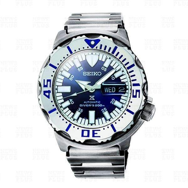 SEIKO PROSPEX MONSTER ROYAL BLUE LIMITED EDITION AUTOMATIC MEN WATCH (1,750 LIMITED) SRP657