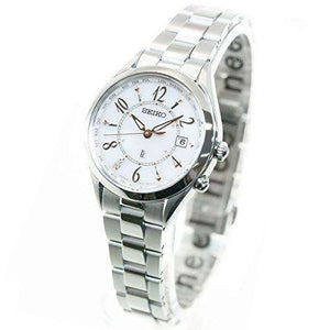 SEIKO LUKIA LADY COLLECTION SOLAR RADIO WAVE WOMEN WATCH SSQV077